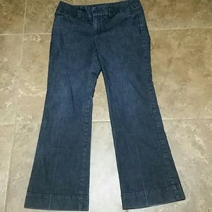 Gap curvy fit flared leg size 8 jeans